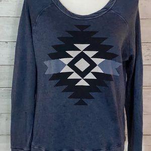 Sundry southwest inspired sweatshirt